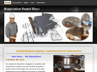 Rénovation Daniel Hays