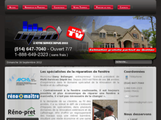 Msd r paration de fen tre laval 514 838 1137 for Reparation fenetre quebec