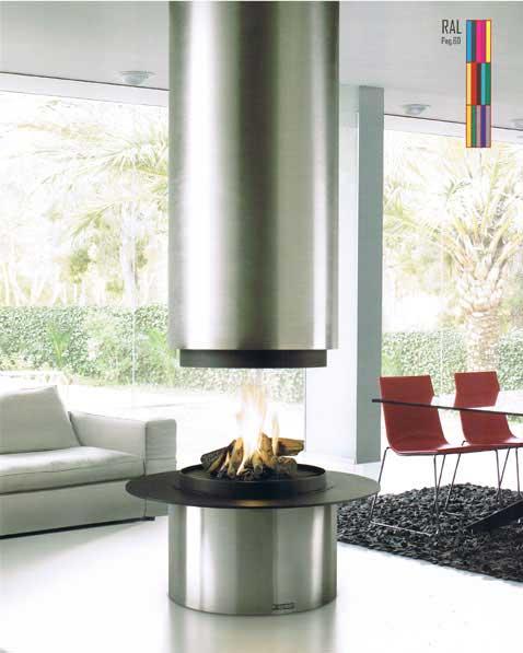Insert Métallique Pour Bois - Chauffage avec une cheminée insert métalliqueà bois