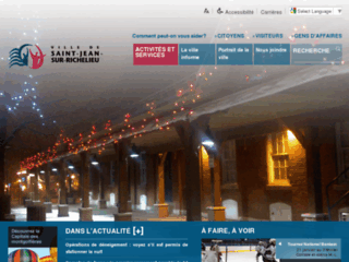 Ville de Saint-Jean-sur-Richelieu - Site web officiel