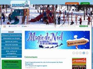 Ville de Drummondville - Site web officiel