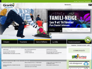 Ville de Granby - Site web officiel
