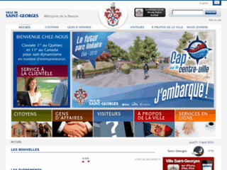 Ville de Saint-Georges - Site web officiel