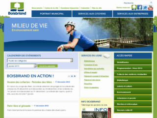 Ville de Boisbriand - Site web officiel