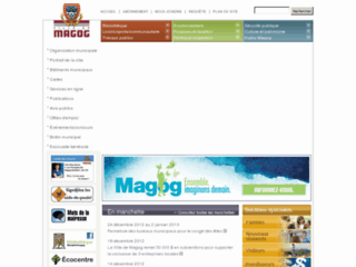 Ville de Magog - Site web officiel