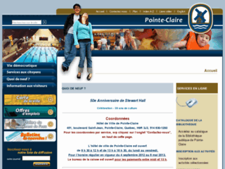 Ville de Pointe-Claire - Site web officiel