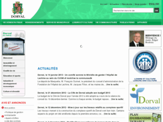 Ville de Dorval - Site web officiel