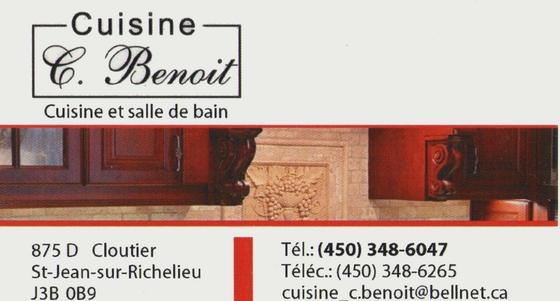 Cuisine c benoit cuisine et salle de bain saint jean for Armoire de cuisine st jean sur richelieu