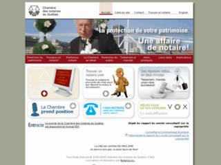 Assurance for Chambre de notaires quebec