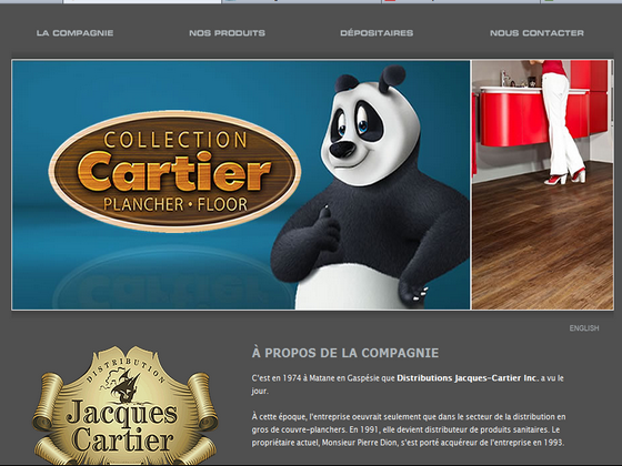 Détails : Distributions Jacques-Cartier inc. - Tapis, prélart commerciaux