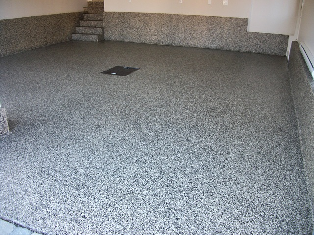 Zone garage expert en plancher de garage for Peinture pour sol de garage