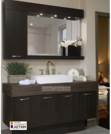 Cuisine salle de bain armoires comptoirs cuisines for Armoires de cuisine action