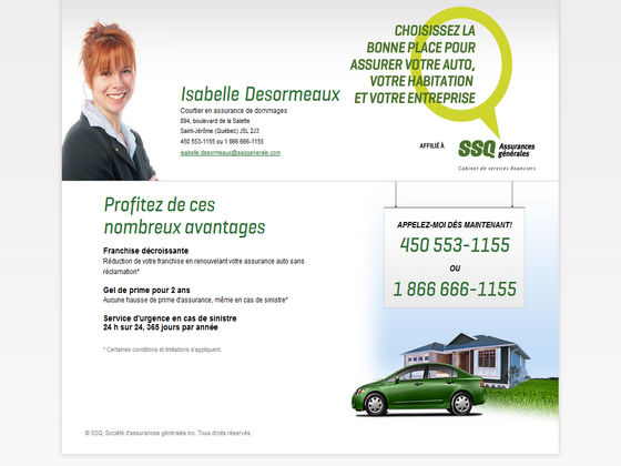 Assurance auto desjardins assurance auto numero de telephone for Assurance maison desjardins