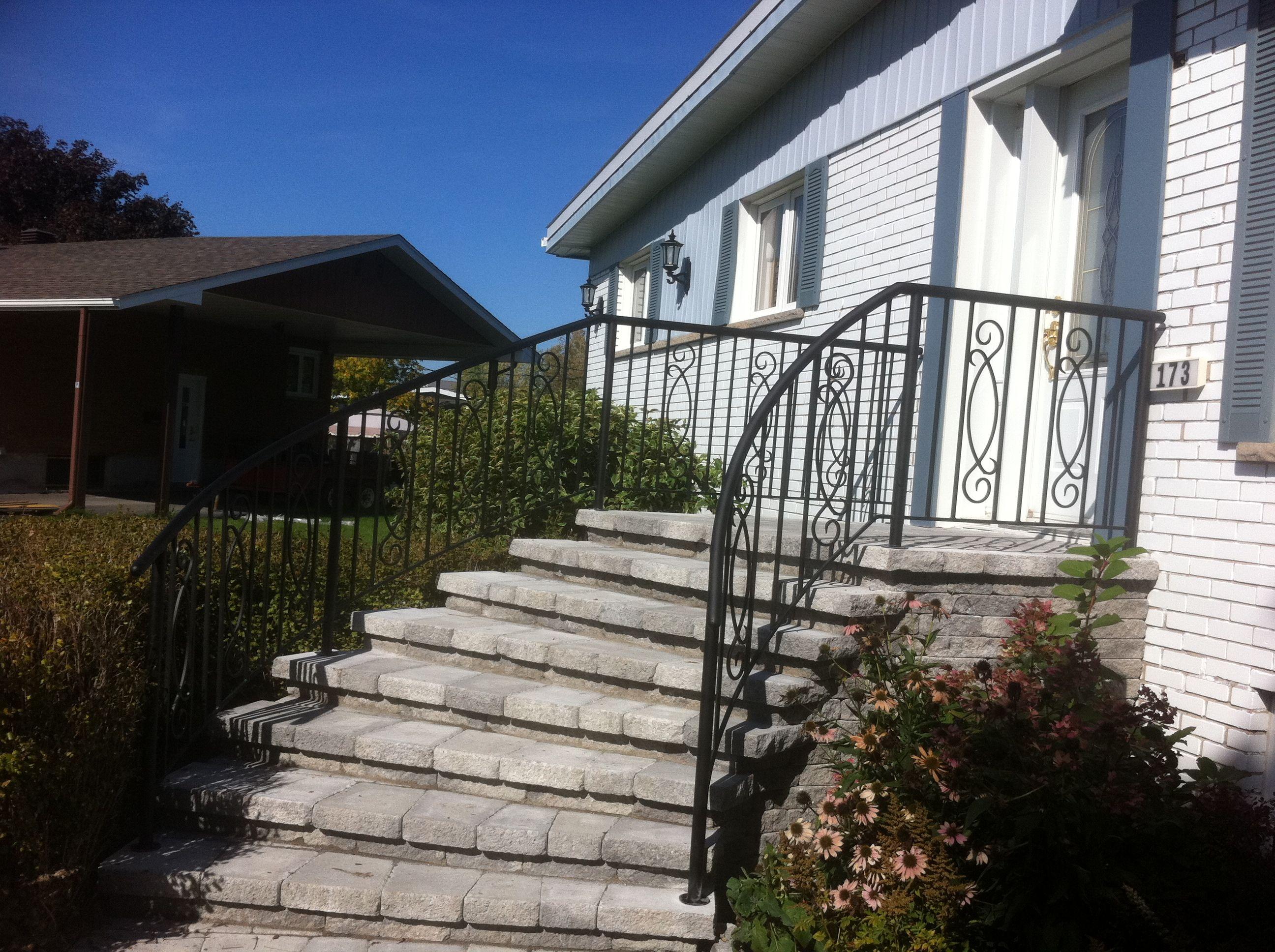 Cr ation harvey metal escaliers et rampes sur mesure for Porte et fenetre st jean sur richelieu